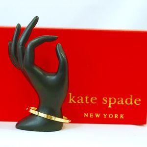KATE SPADE~set in stone~HINGED BANGLE BRACELET